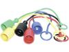 Staubschutz für Hydraulikstecker Standard, Kunststoff, diverse Farben, BG 03