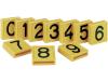 Kerbl Nummer  Ziffer 3, gelb, , ,  für Halsmarkierungsband, 208853