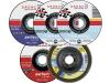 Dronco® Trenn- und Schleifset für Winkelschleifer, 5-teilig