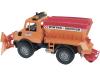 "Bruder® Modell ""MB Unimog Winterdienst"" 1:16, 02572"