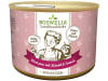 Boswelia Landhausküche Katze Rind Pur Leinöl  (Karton 12x 200 g Dose)