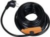 Patura Heizkabel 230 V für Wasser- und Heizleitungen mit Thermostat, 12 m, 380120