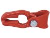 """Seilgleitbügel """"FTF 6"""" mit Einhängeöse, rot, für Forstwindenseile bis 16 mm und Ketten bis 8 mm Stärke"""