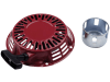 Handstarter Rücklaufstarter mit 2 Starterklinken für HONDA Motor: GX160QXE4, GX200, GX200QX7, GX200QXE4, GX200SXE4, GX200VSD
