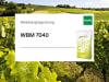 Planterra Weinbergbegrünung WBM 7040 mit Mirkogranulatdünger, verbessert die Jugendentwicklung bei geringer Bodenbearbeitung und verhindert Erosion