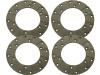 Ringbelagsatz, Ø außen 178 mm x Ø innen 101 mm, Stärke 4,8 mm
