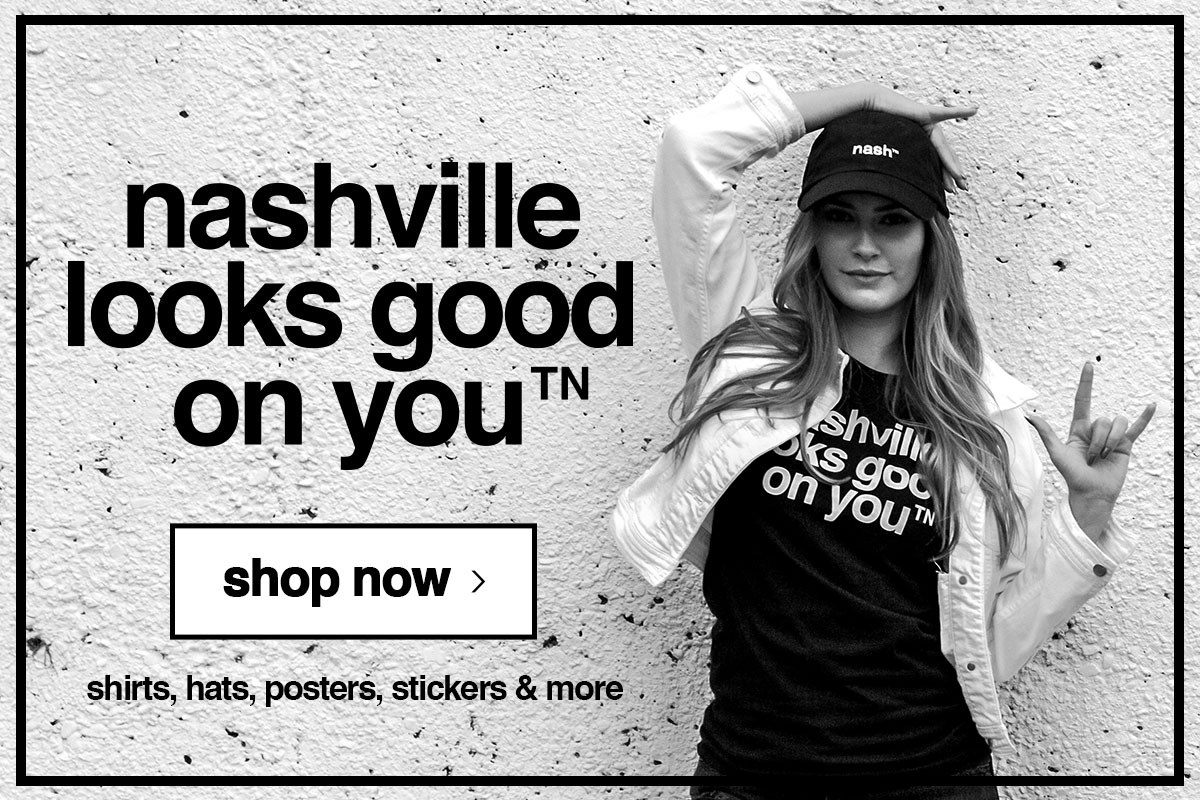 shop nashville looks good on you products
