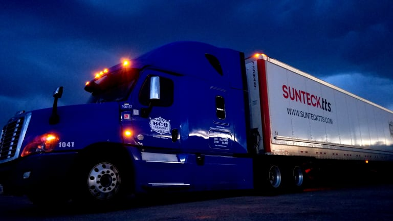 Team Truck Dedicated Lane