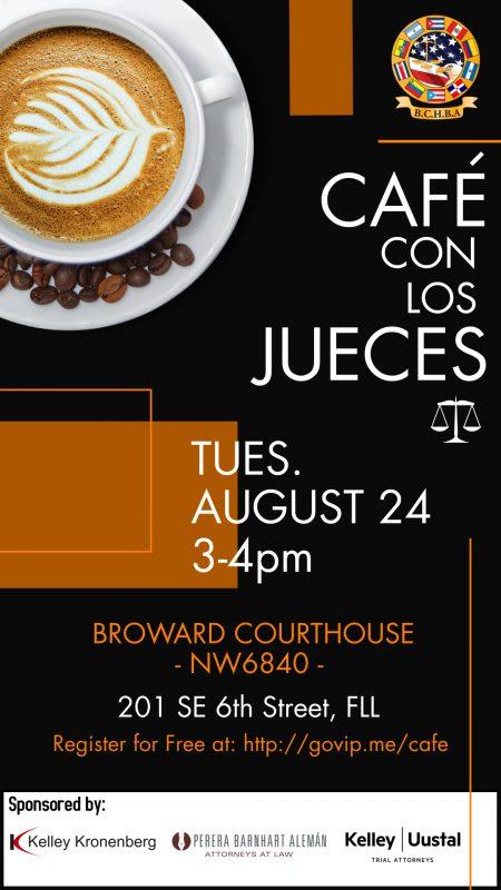 Cafe con los Jueces Image