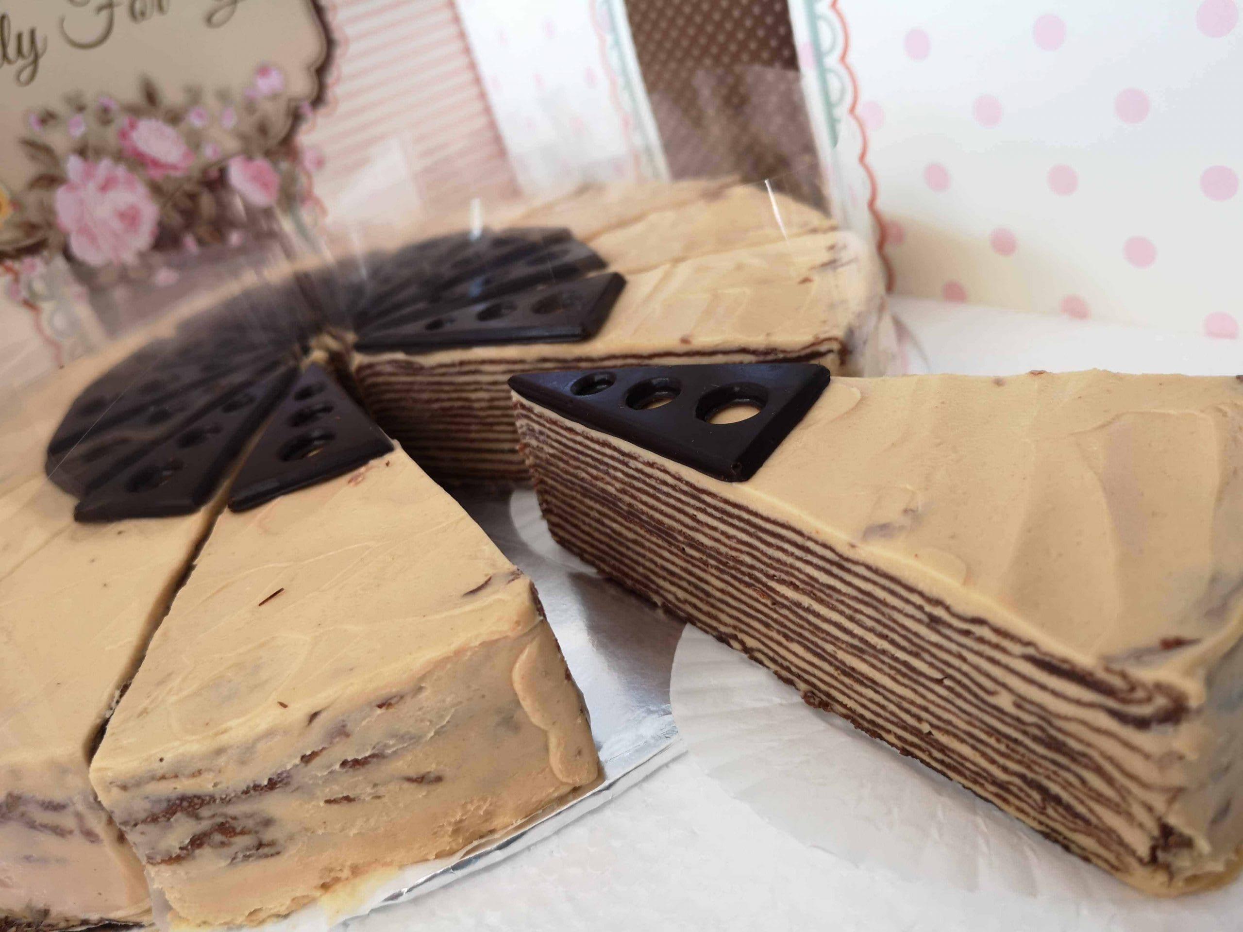 chocolate peanut butter crepe