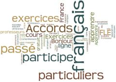 French grammar course and exercises - Advanced level B1 & B2