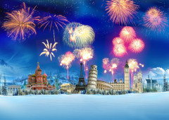 Joyeux Noel Et Nouvel An.Comprehension Ecrite Noel Et Nouvel An En France