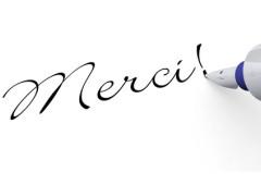 Remercier En Francais Et Autres Formules De Politesse