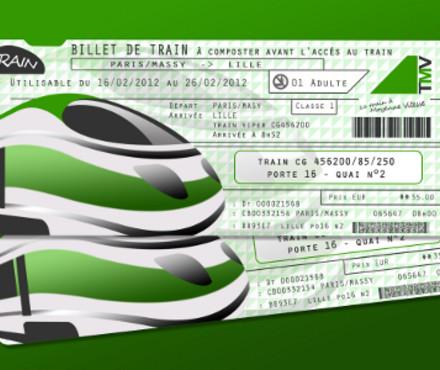 Image Billet De Train acheter un billet de train