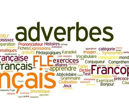 Les Adverbes En Francais