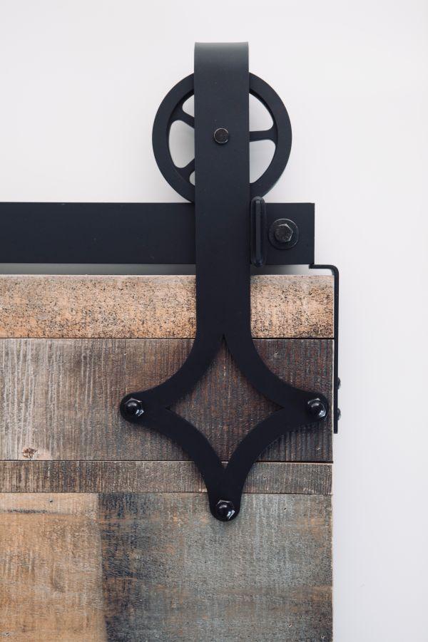 Struck Barn Door Hardware - Big Wheel