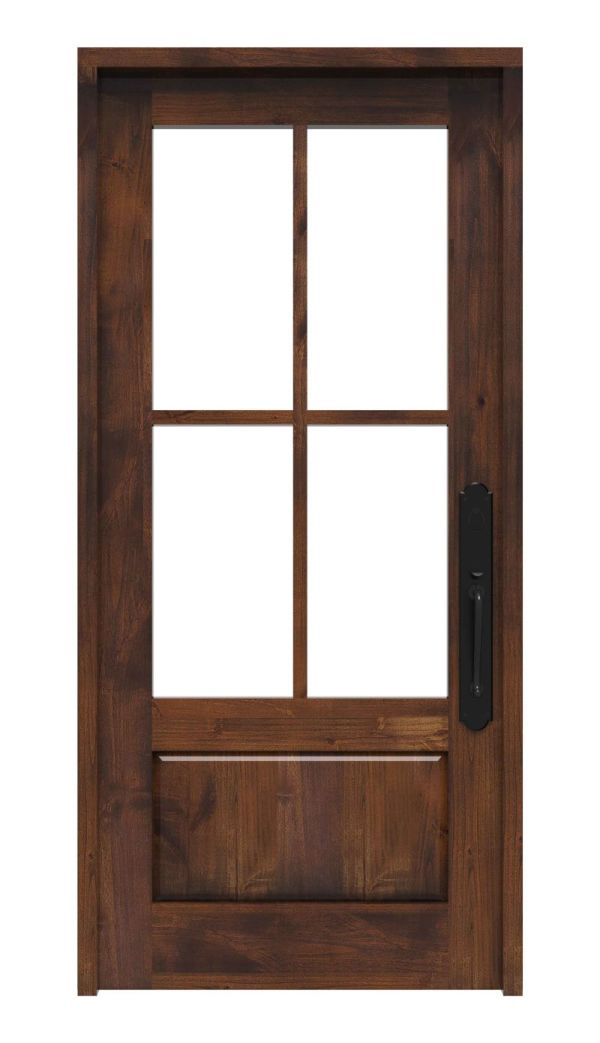 Rustic Ranch Front Door