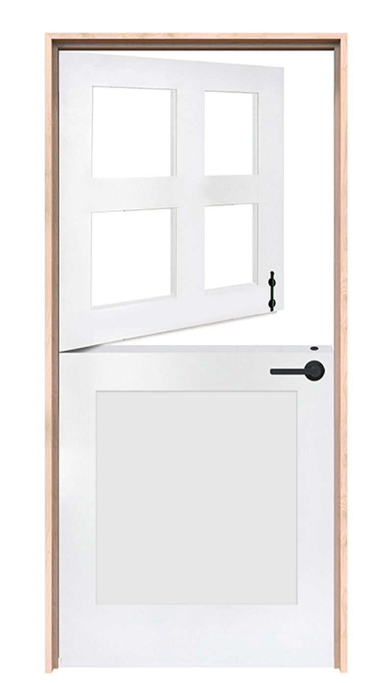 Country Exterior Dutch Door