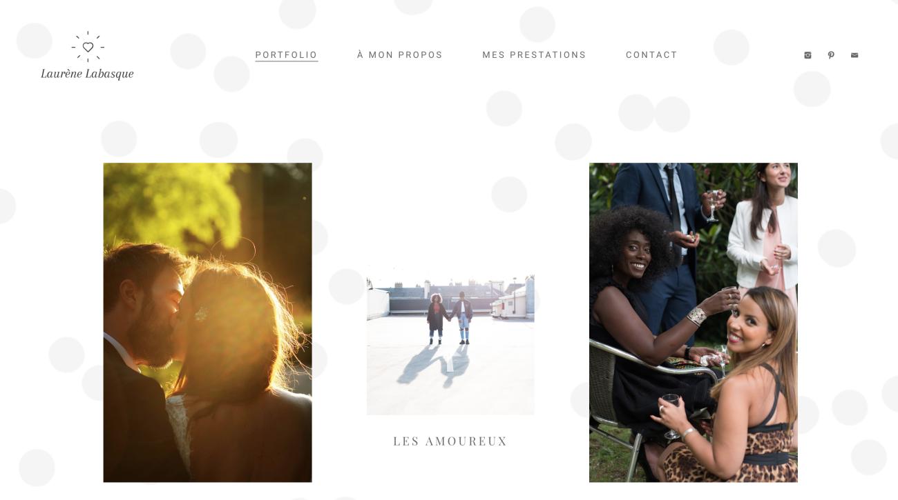 laurene-labasque-website-screenshot