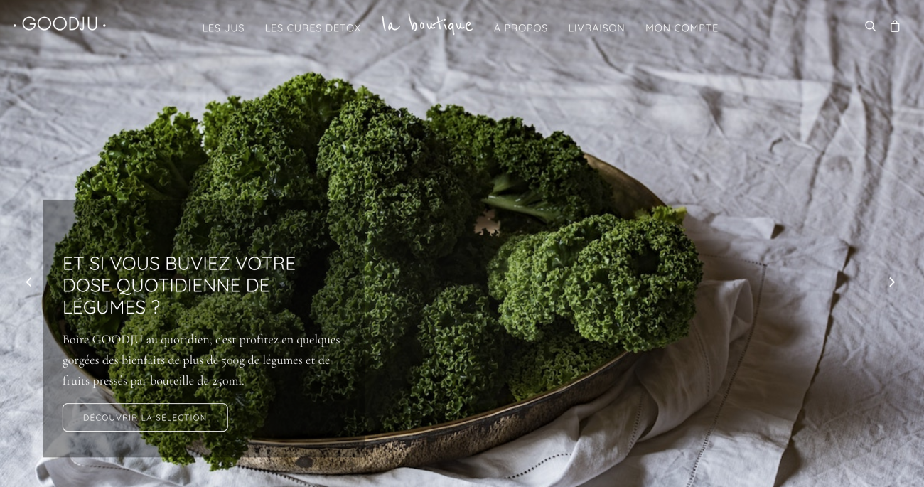 goodju-website-screenshot