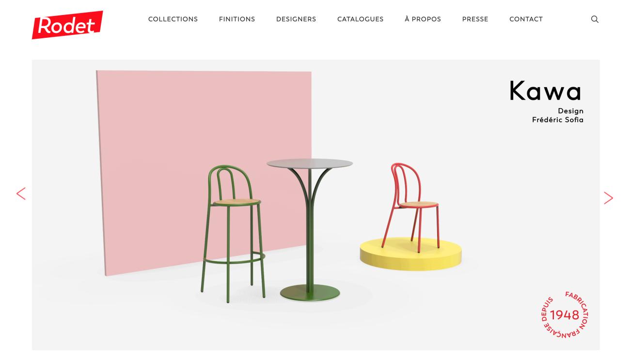 rodet-contract-website-screenshot