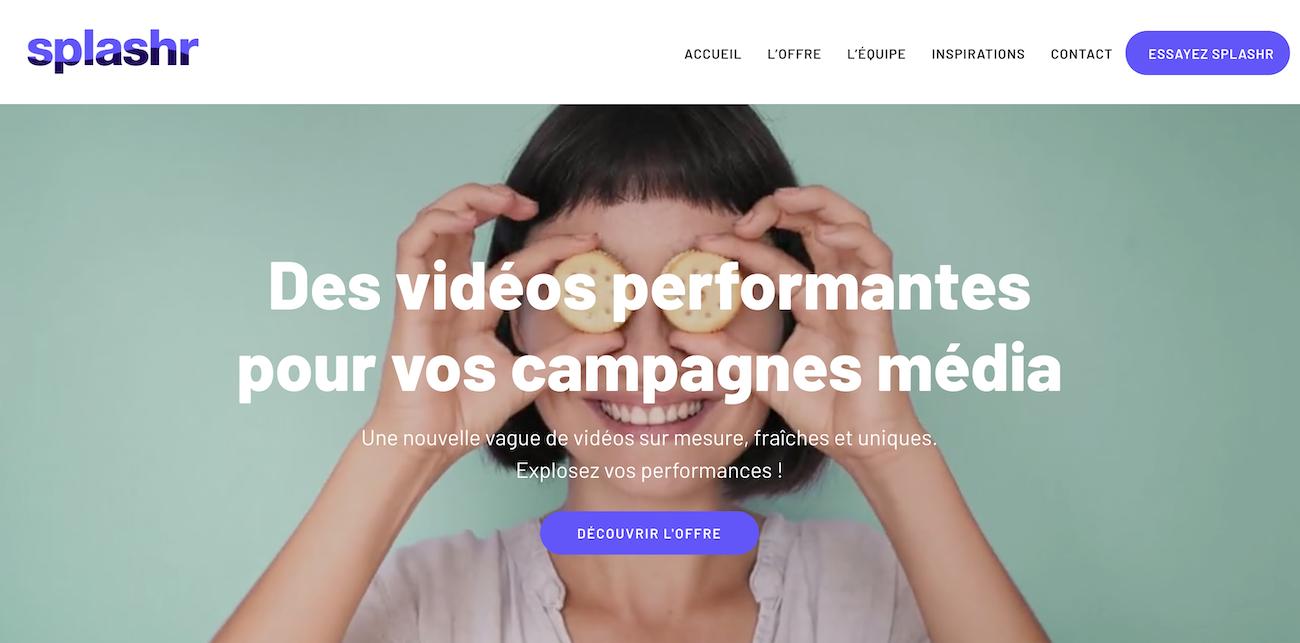 splashr-website-screenshot