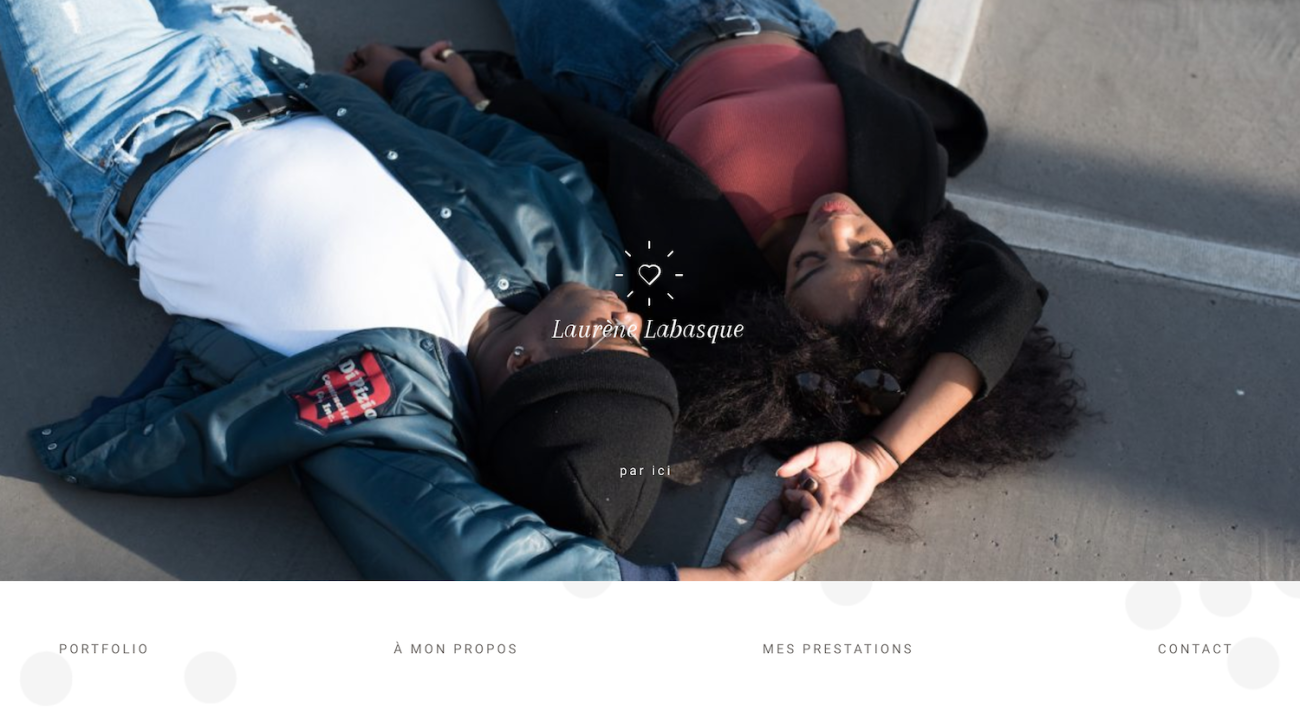 laurene-labasque-website-screenshot