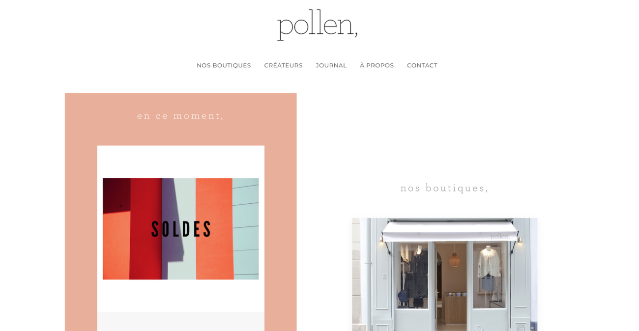 pollenparis-website-screenshot