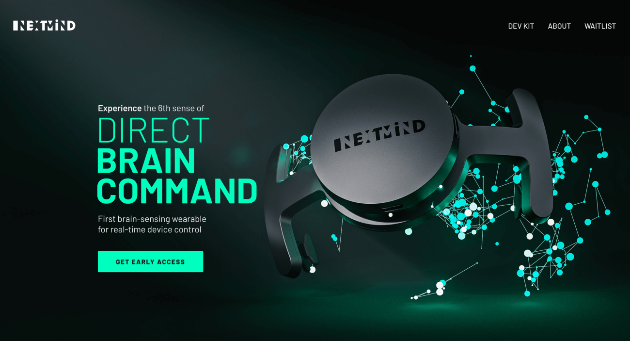 nextmind-website-screenshot