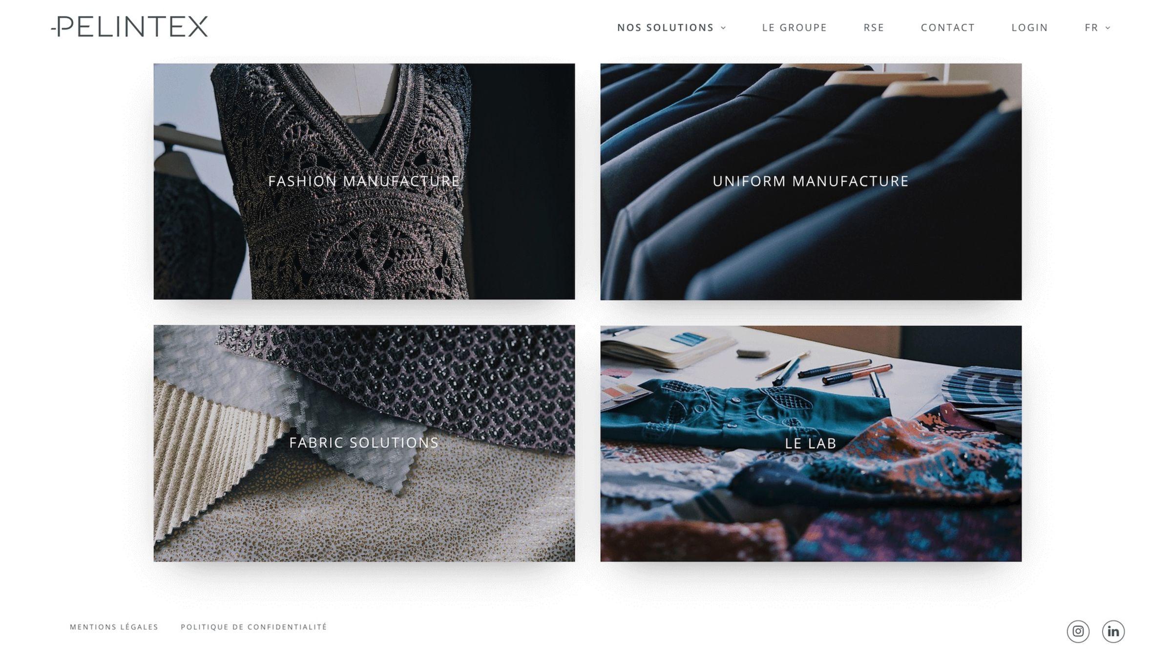 pelintex-website-screenshot
