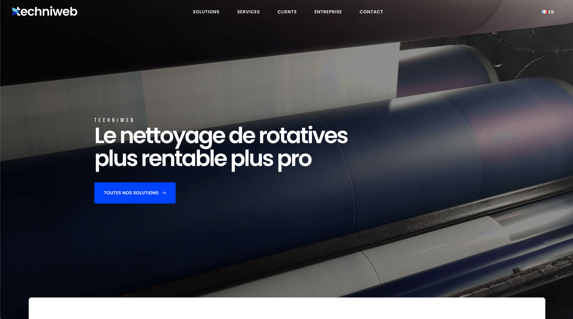 techniweb-website-screenshot