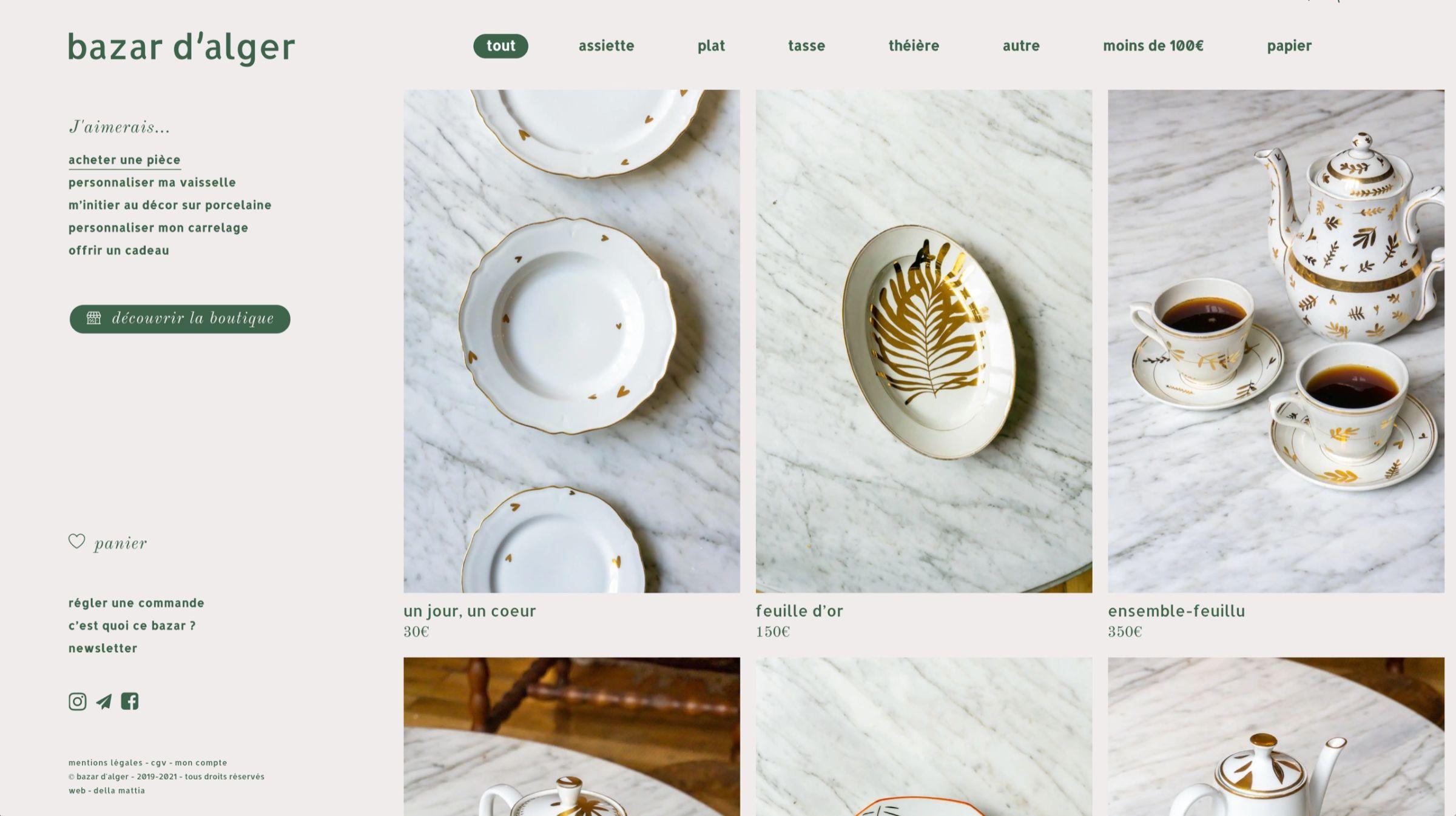 bazar-dalger-website-screenshot