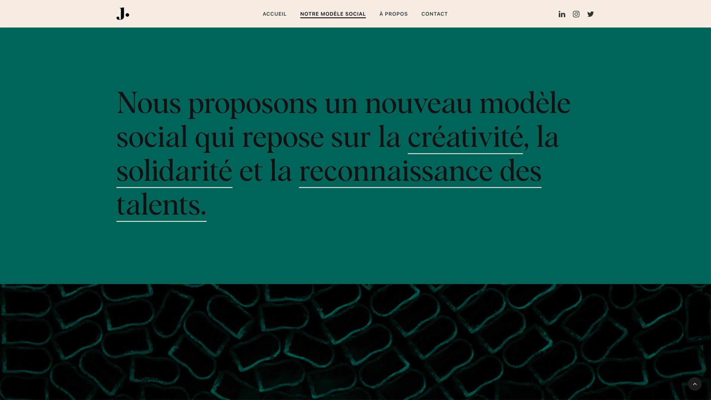 justement-studio-website-screenshot