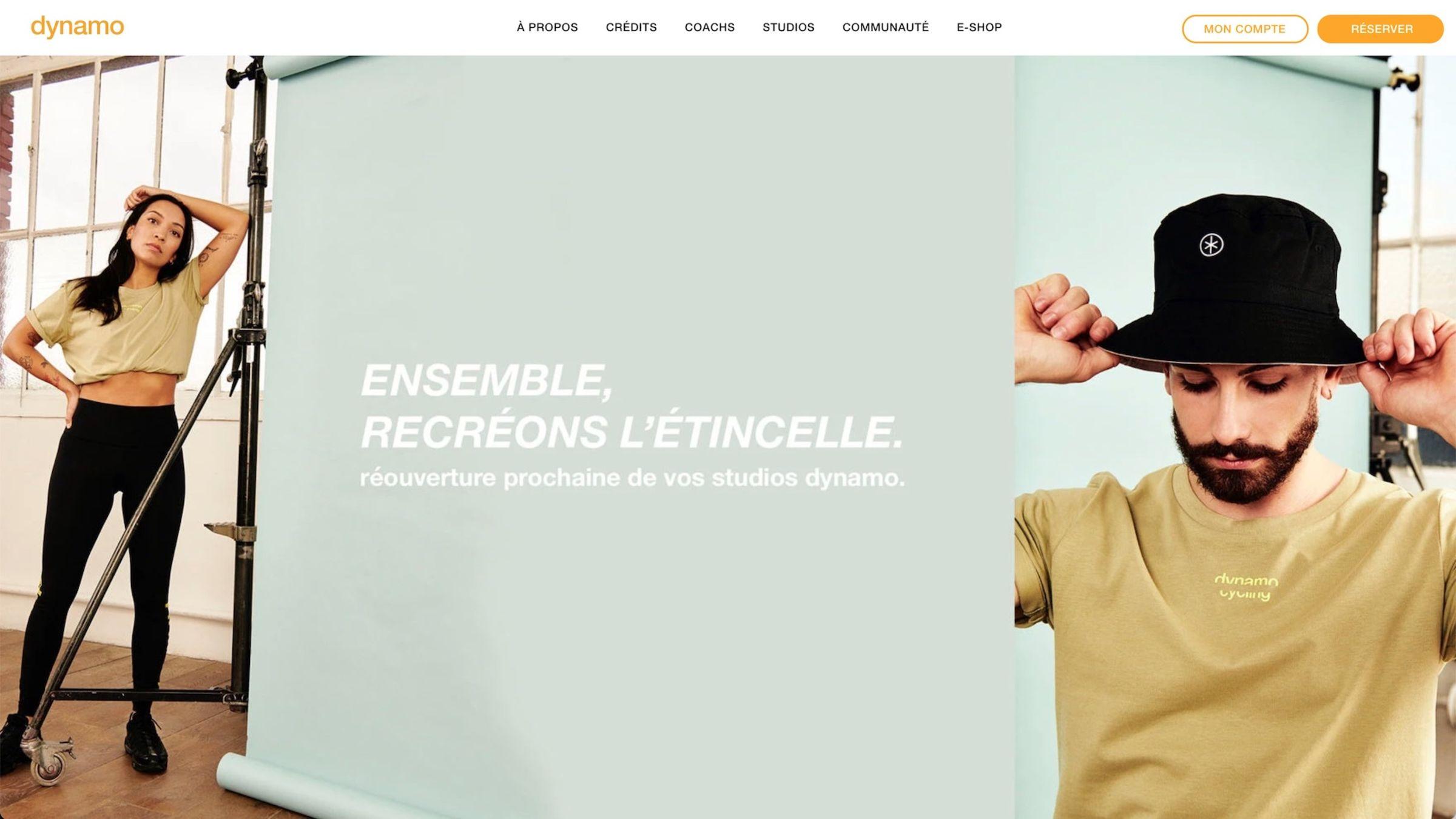 dynamo-cycling-website-screenshot