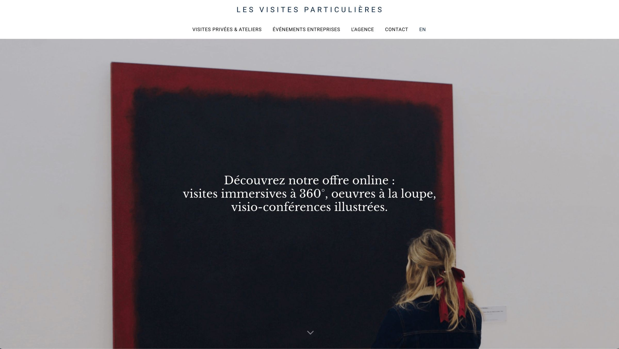 lesvisitesparticulieres-website-screenshot