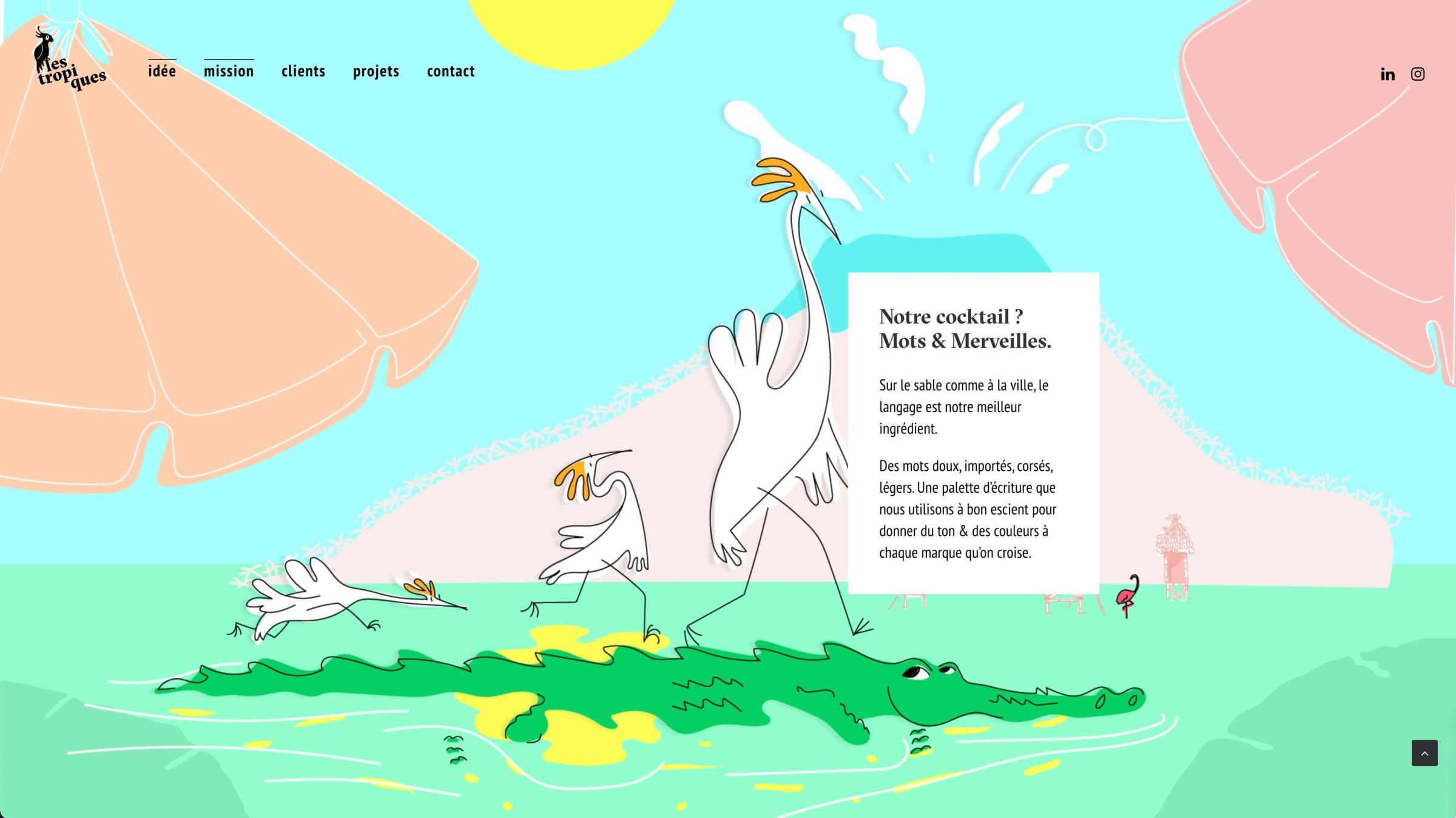 lestropiquesstudio-website-screenshot