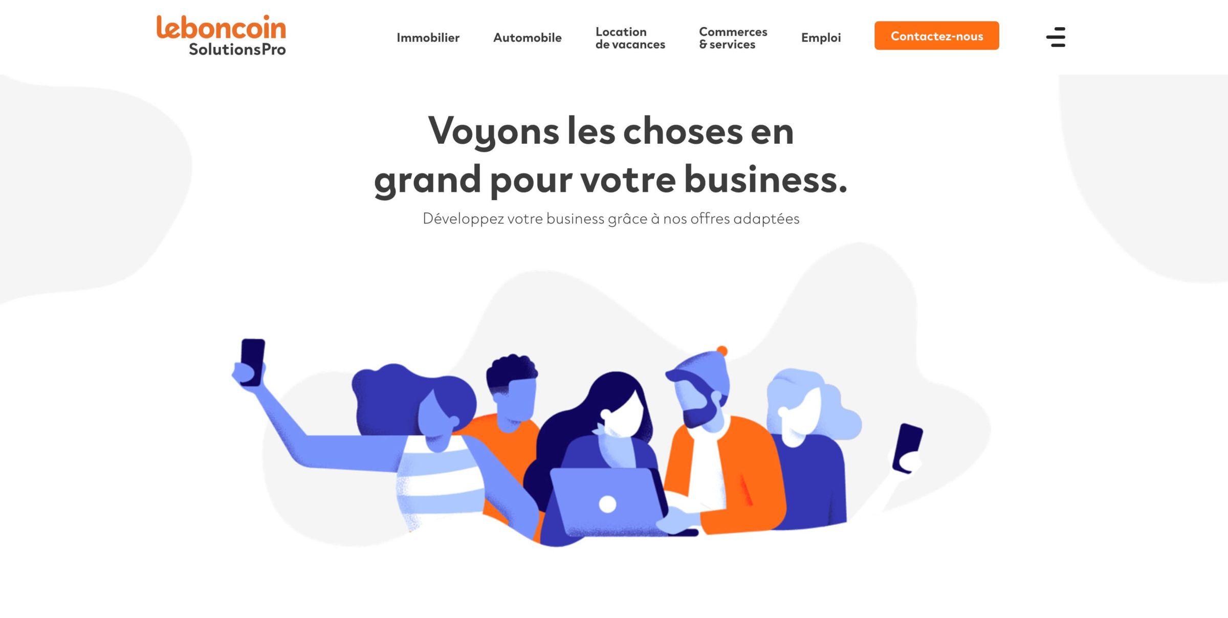 leboncoinsolutionspro-website-screenshot