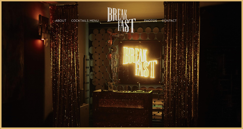 breakfast-club-website-screenshot
