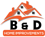 B&D Roofing Cork Logo