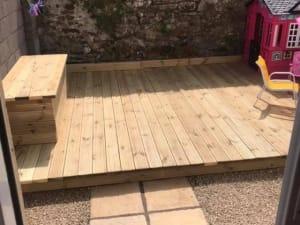 Garden Decking Cork