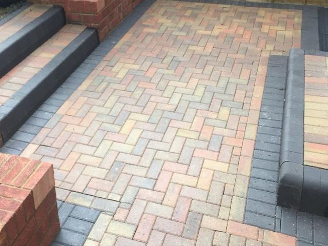 Patio laying cleaning cork