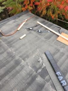 Cork Roofing Felt Flat Roofs