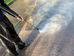 Power Cleaning Cork Pressure Cleaning