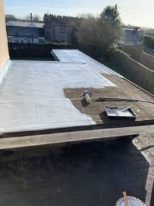 Sealing Flat Roof Cork