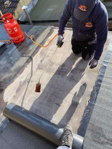 Torch on Felt Roofing Cork