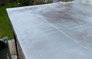 Resealed Flat Roof Cork