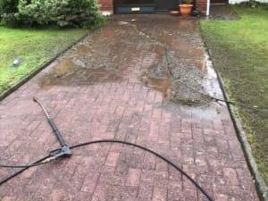 Power Washing Driveway Cork