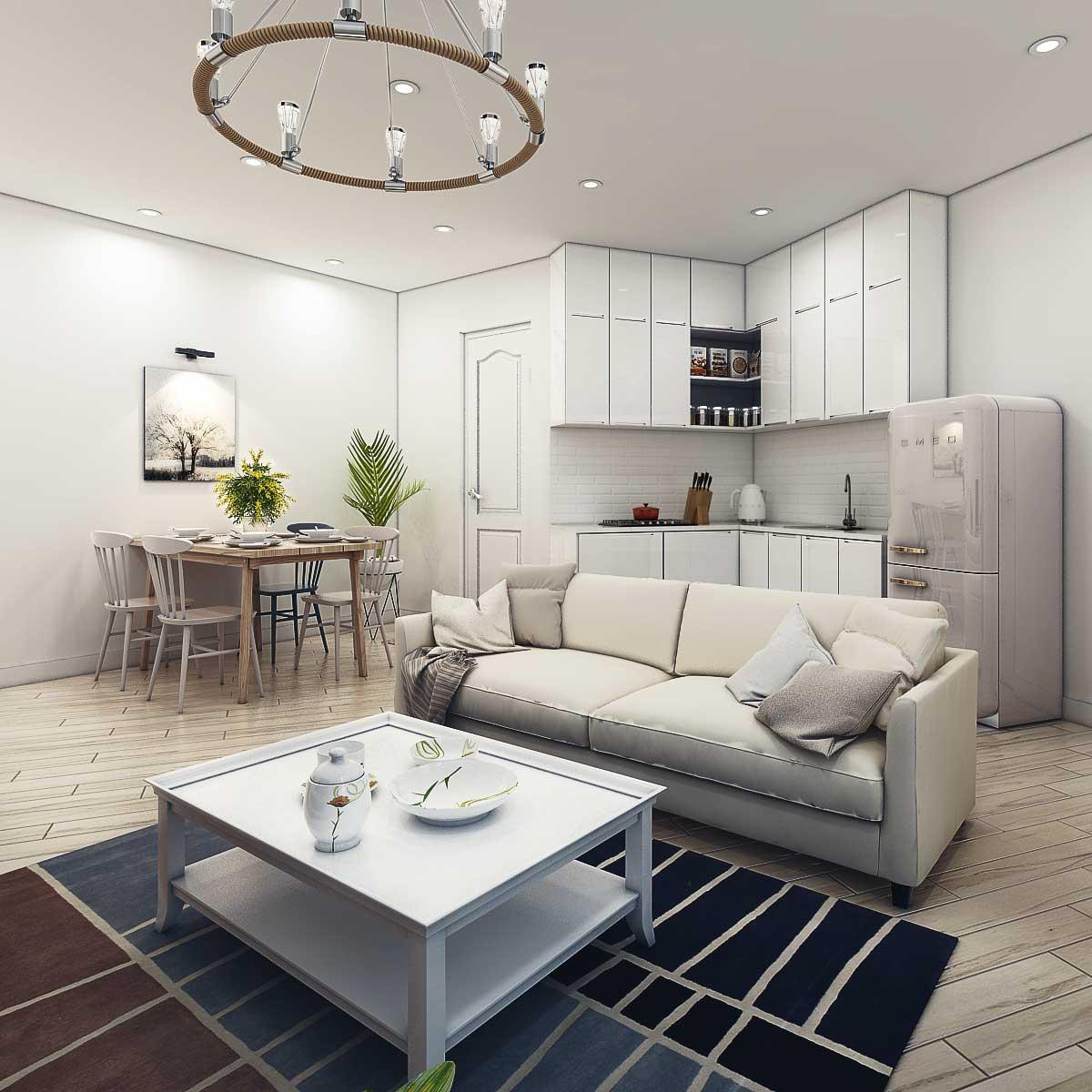 Bán căn hộ dự án Samsora 105 Chu Văn An