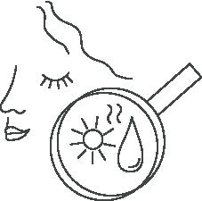 icône déshydratation