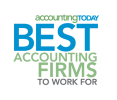 AccountingToday's Best Accounting Firms to Work For